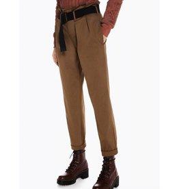 High Waist Paperbag Pants with Belt