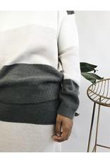 Colour Block Knit Skirt