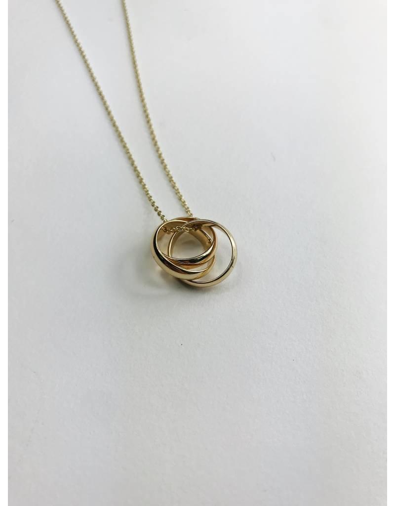 Jenifer - Gold Plated Necklace