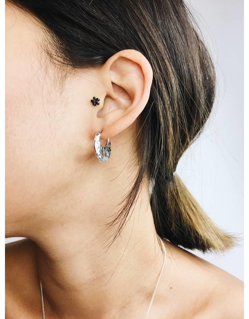 Marley - Boucles d'oreilles plaqué argent
