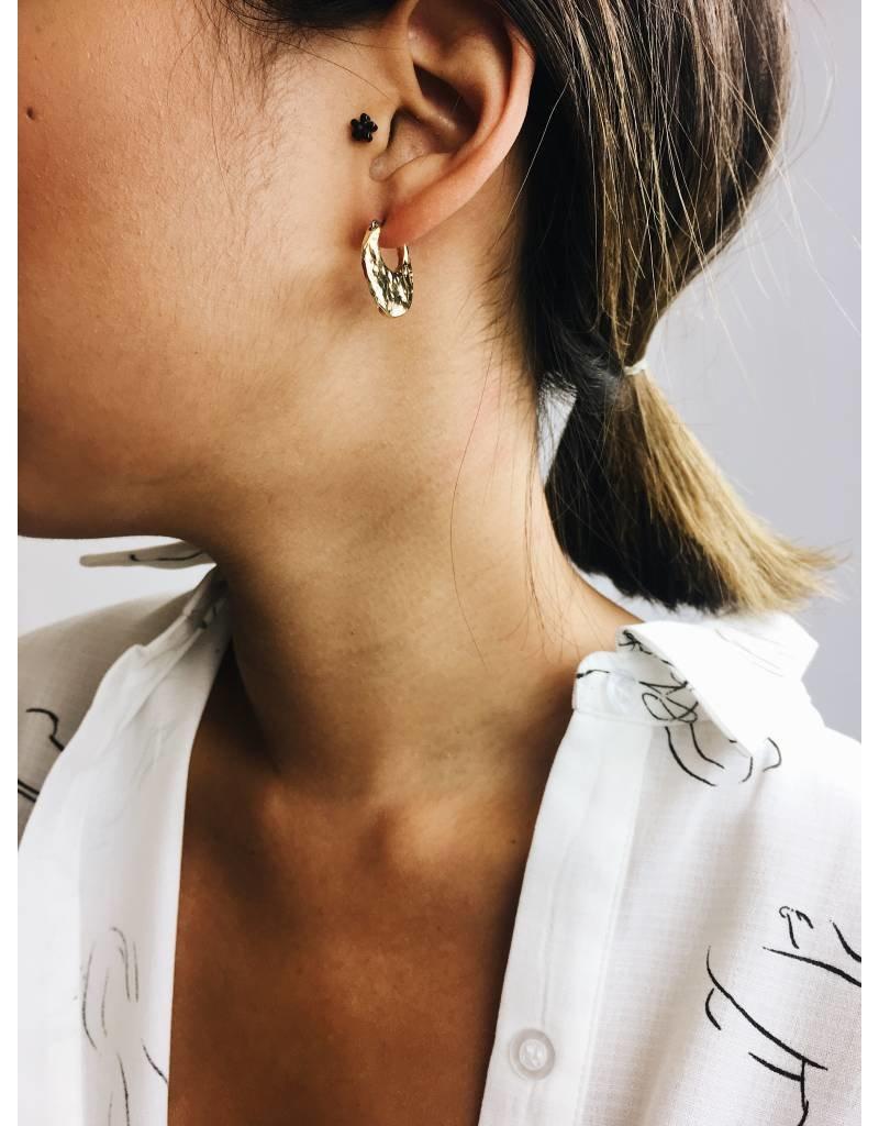 Marley - Boucles d'oreilles plaqué or