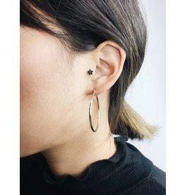 Layla - Boucles d'oreilles plaqué or - Large