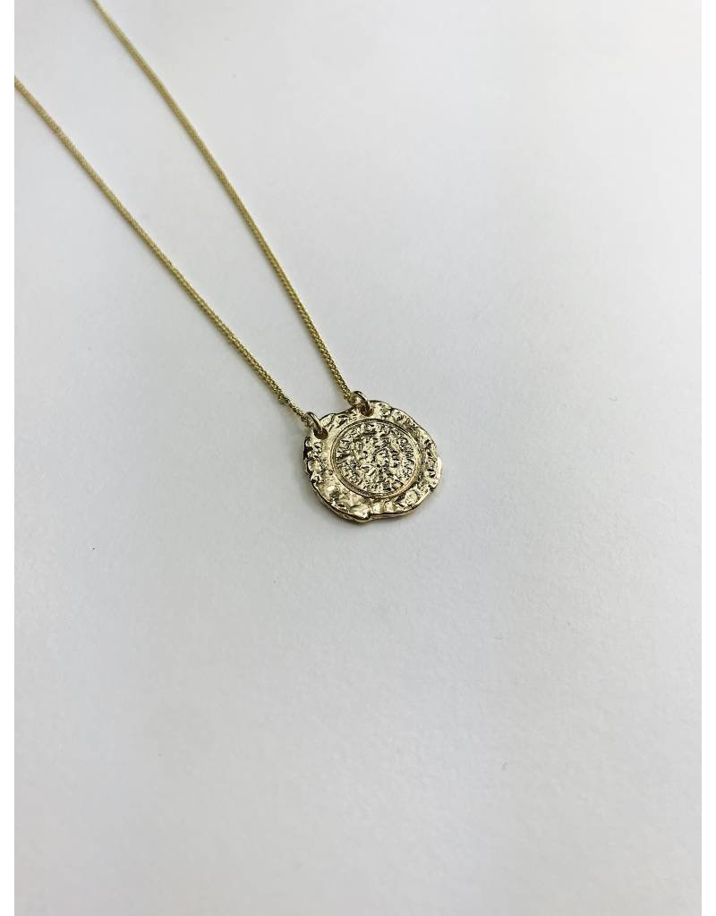 Marley - Gold Plated Medallion Necklace