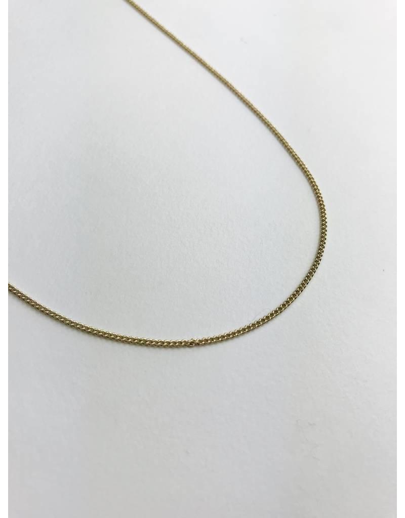Esme - Collier plaqué or