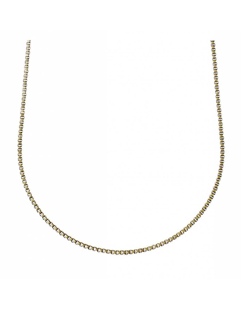 Nancy - Classic Gold Plated Necklace - Mid Length