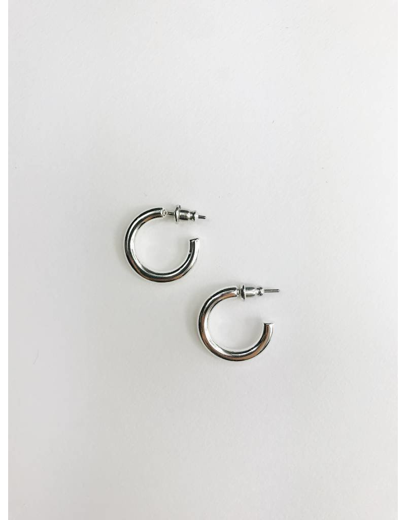 Dolag - Silver Plated Earrings