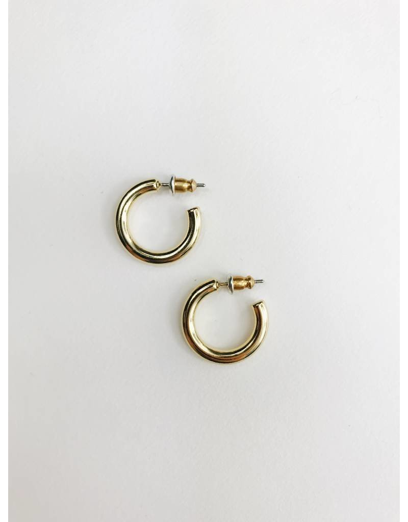 Dolag - Boucles d'oreilles plaqué or