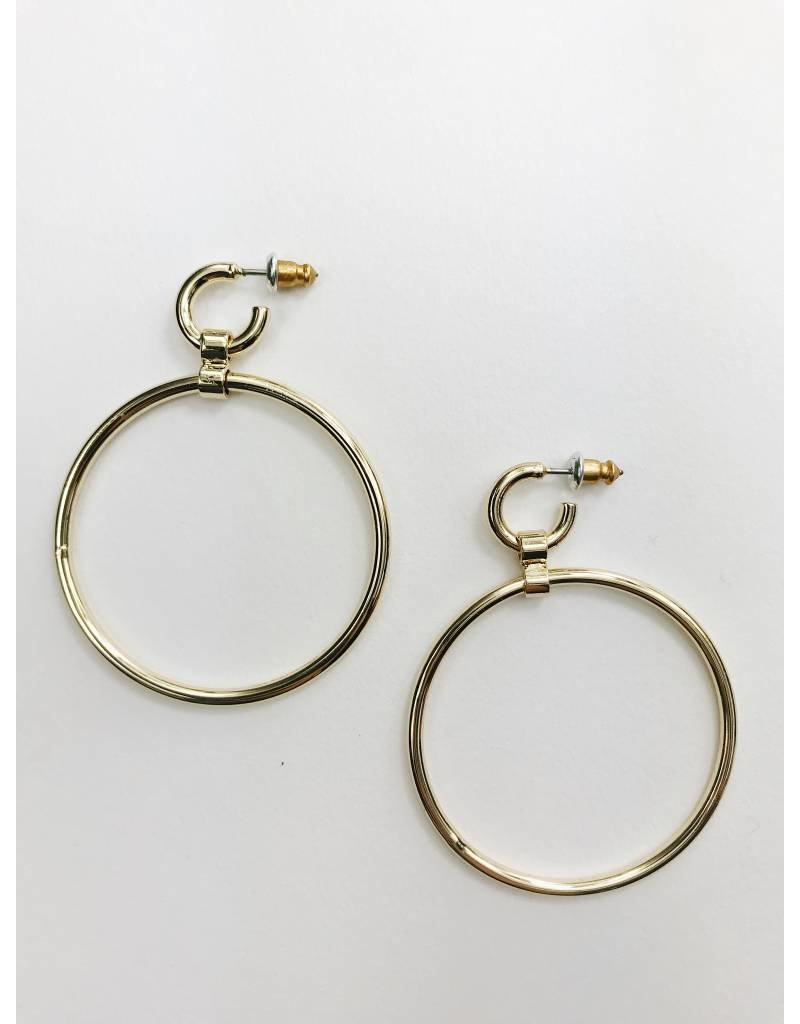 Becky - Gold Plated Earrings