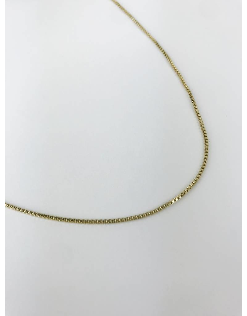 Nancy - Classic Gold Plated Necklace - Short
