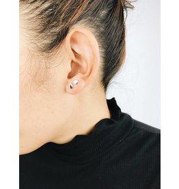 Virginia -  Silver Plated Stud Earrings
