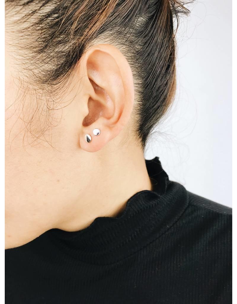 Virginia - Boucles d'oreilles plaqué argent
