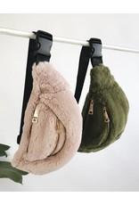 Faux Fur Waist Bag