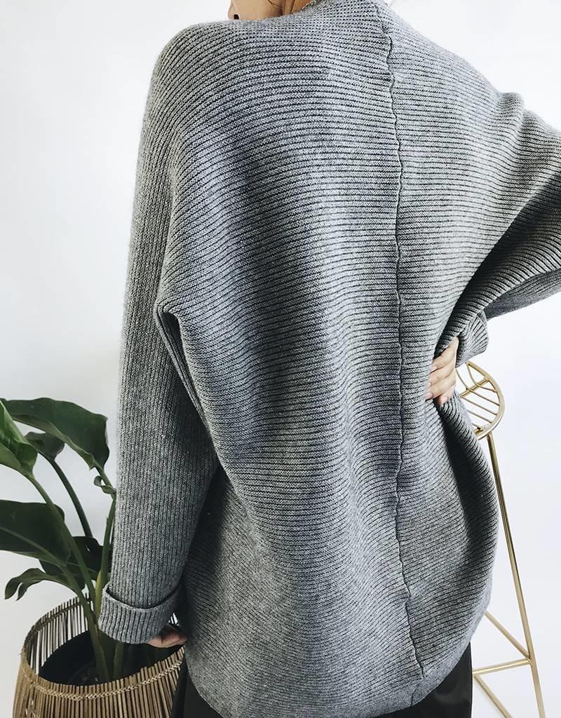 Oversized Knit Cardigan