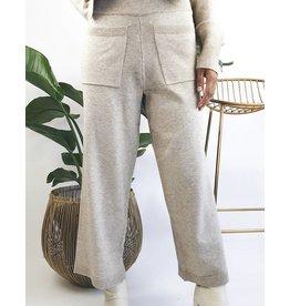 Knit Cropped Pants