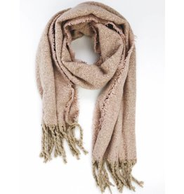 Ultra Soft Plush Scarf - Blush