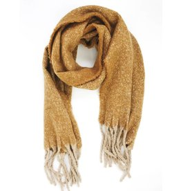 Ultra Soft Plush Scarf - Yellow
