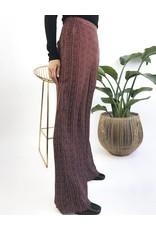 High Waisted Straight Leg Pants