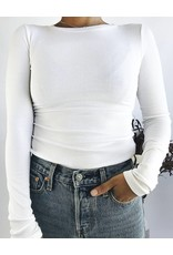 Classic Long Sleeve Ribbed Top