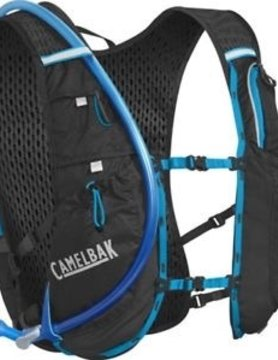 CAMELBAK CAMELBAK ULTRA 10 VEST 70 OZ BLACK/ATOMIC BLUE