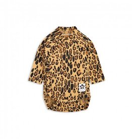 Mini Rodini mini rodini- Basic Leopard Wrap Body, beige