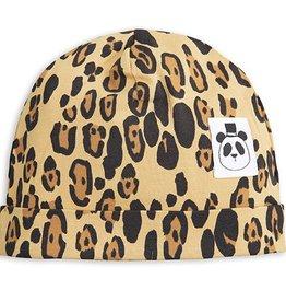 Mini Rodini mini rodini- Basic Leopard Baby Beanie