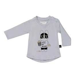 Hux French Movie L/S Top