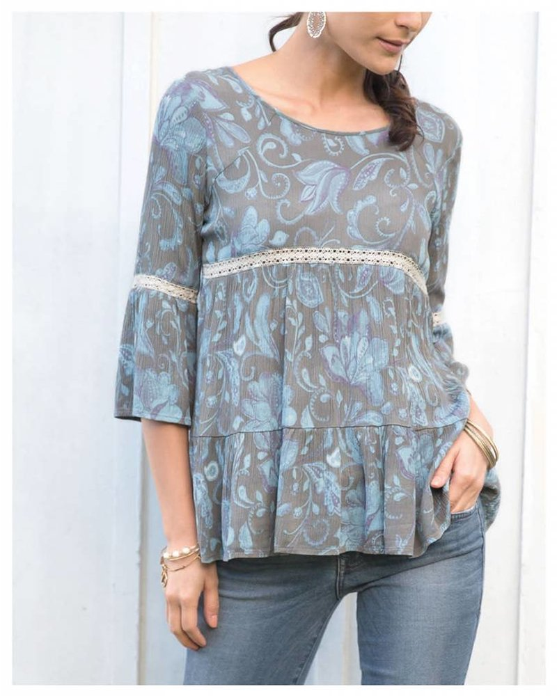 Piper Blouse 575GRY