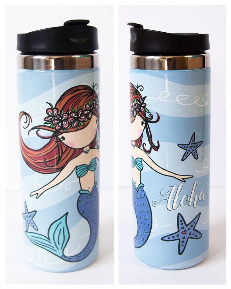 In House LP TRAVEL MUG Aloha Mermaid