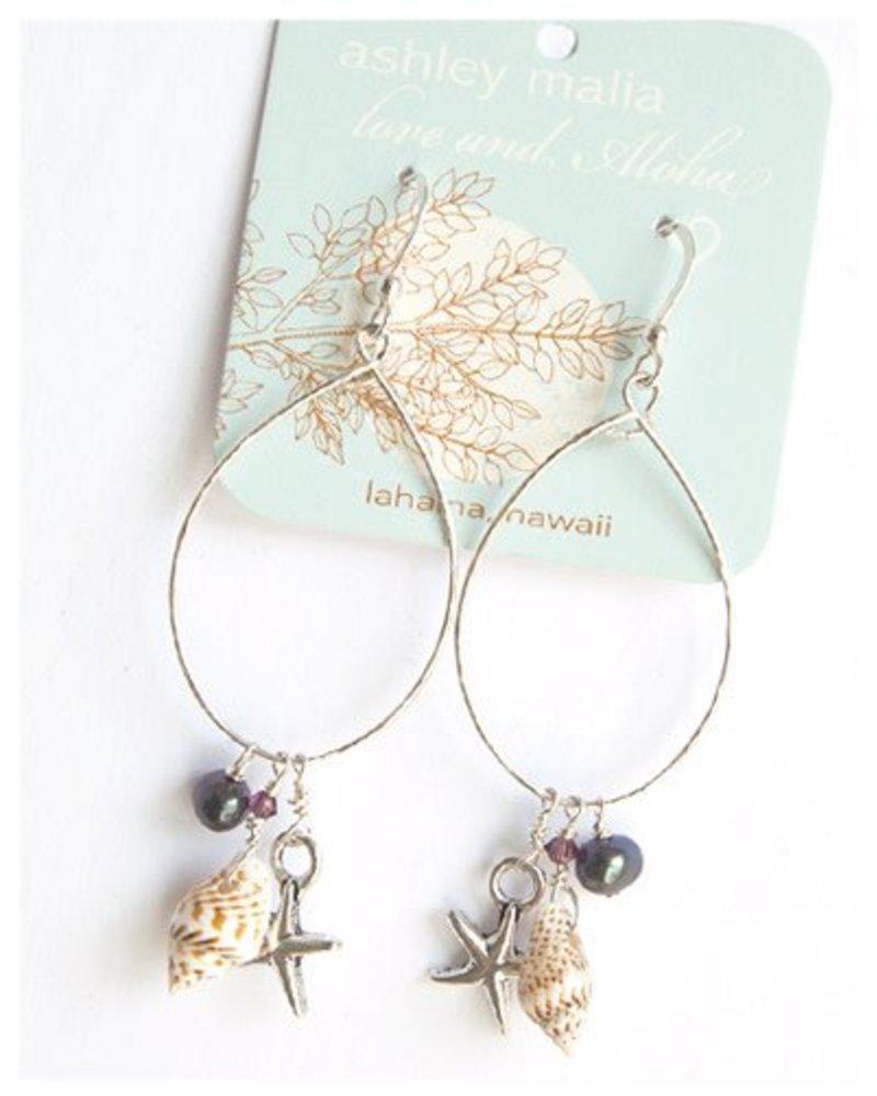 HI ASHLEY MALIA Keala Sterling Silver Earrings