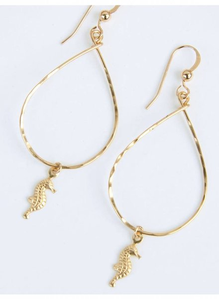 HI KOMAKAI Seahorse Earrings