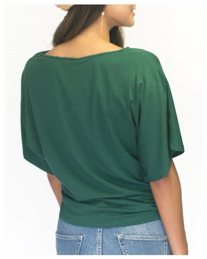 Michele Blouse Paradise Green