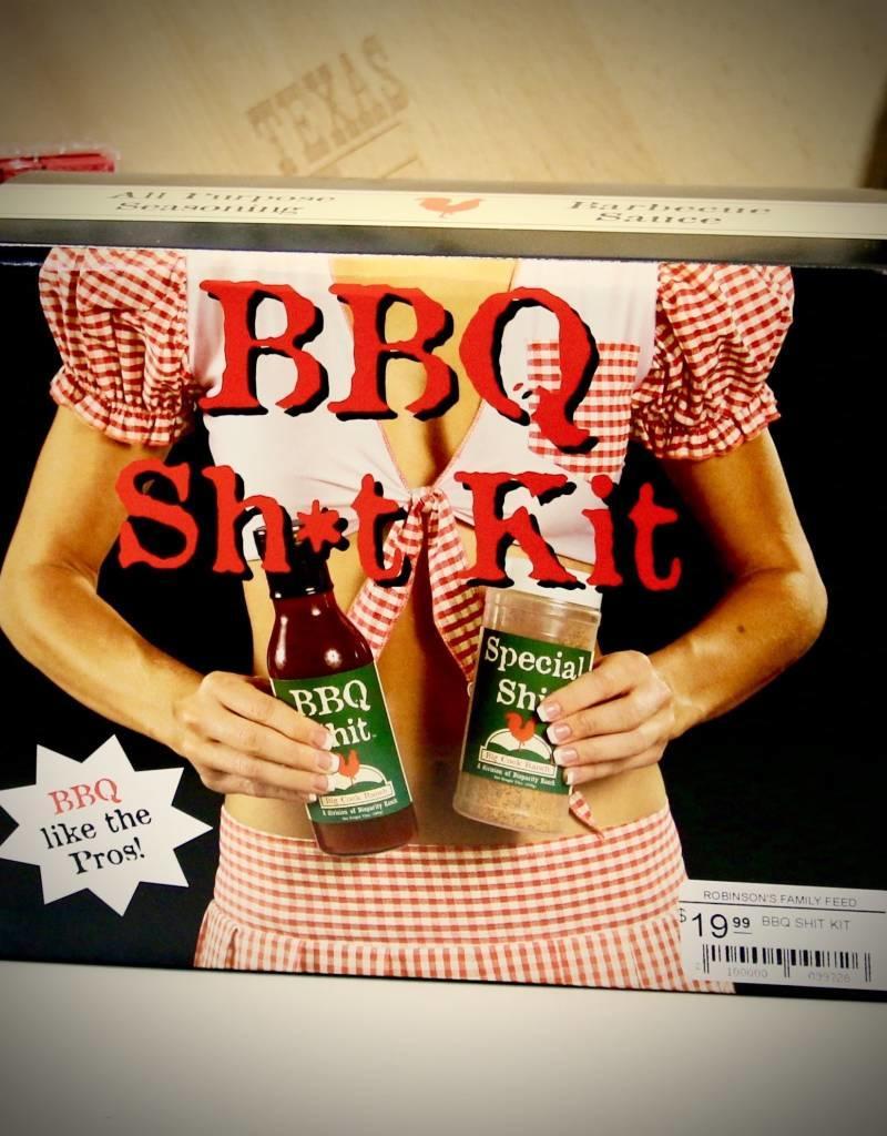 SHIT SPICES BBQ SHIT KIT