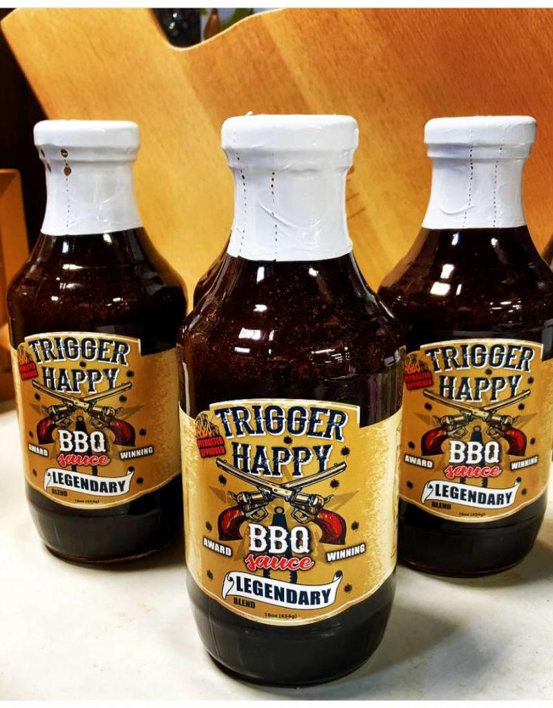 BBQ TRIGGER HAPPY 16 OZ