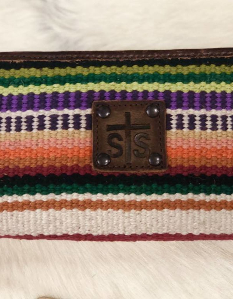 STS69024 WALLET LADIES BI FOLD TULAROSA