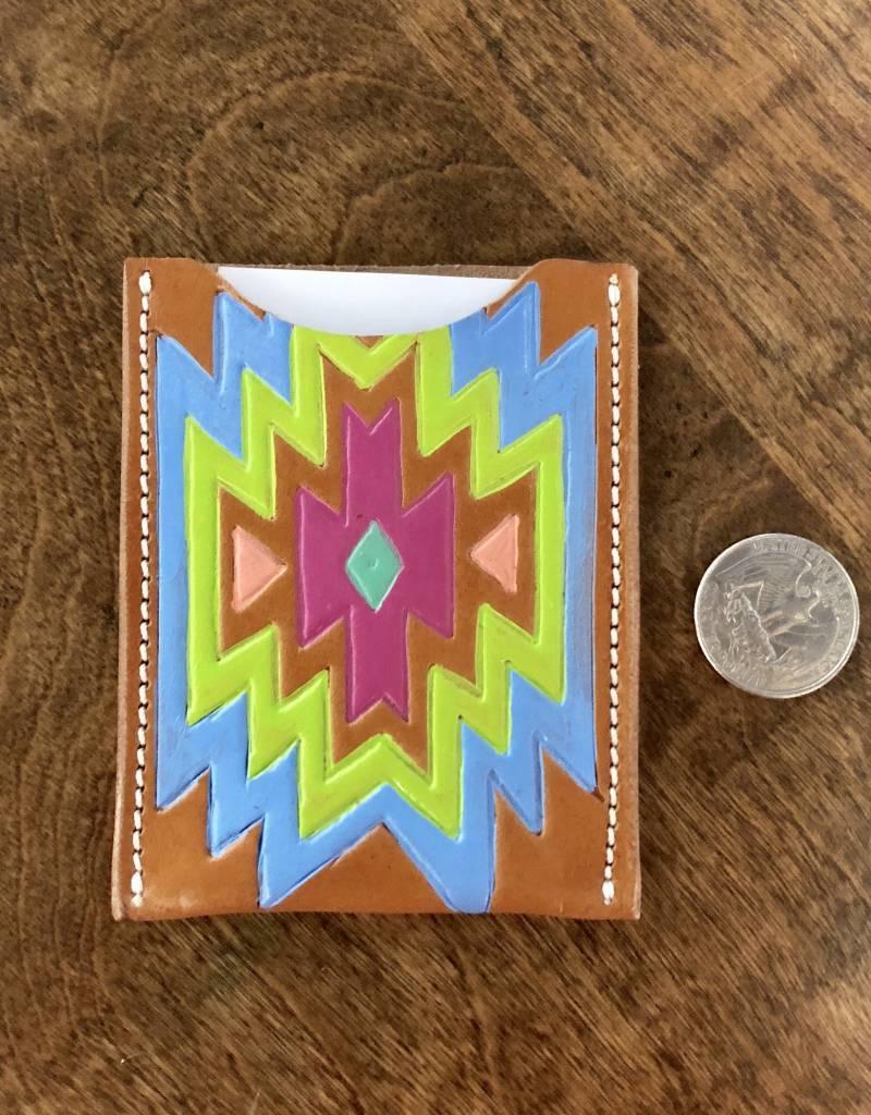 AZTEC LIGHT CARD HOLDER MCINTIRE SADDLERY
