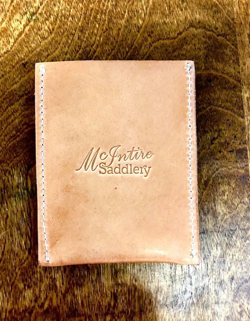 TURQUOISE FLORAL CARD HOLDER MCINTIRE SADDLERY