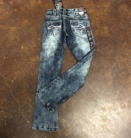 OMG Womens Jean 30 Length Short
