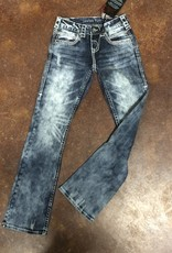 OMG Womens Jean 32 Length Short
