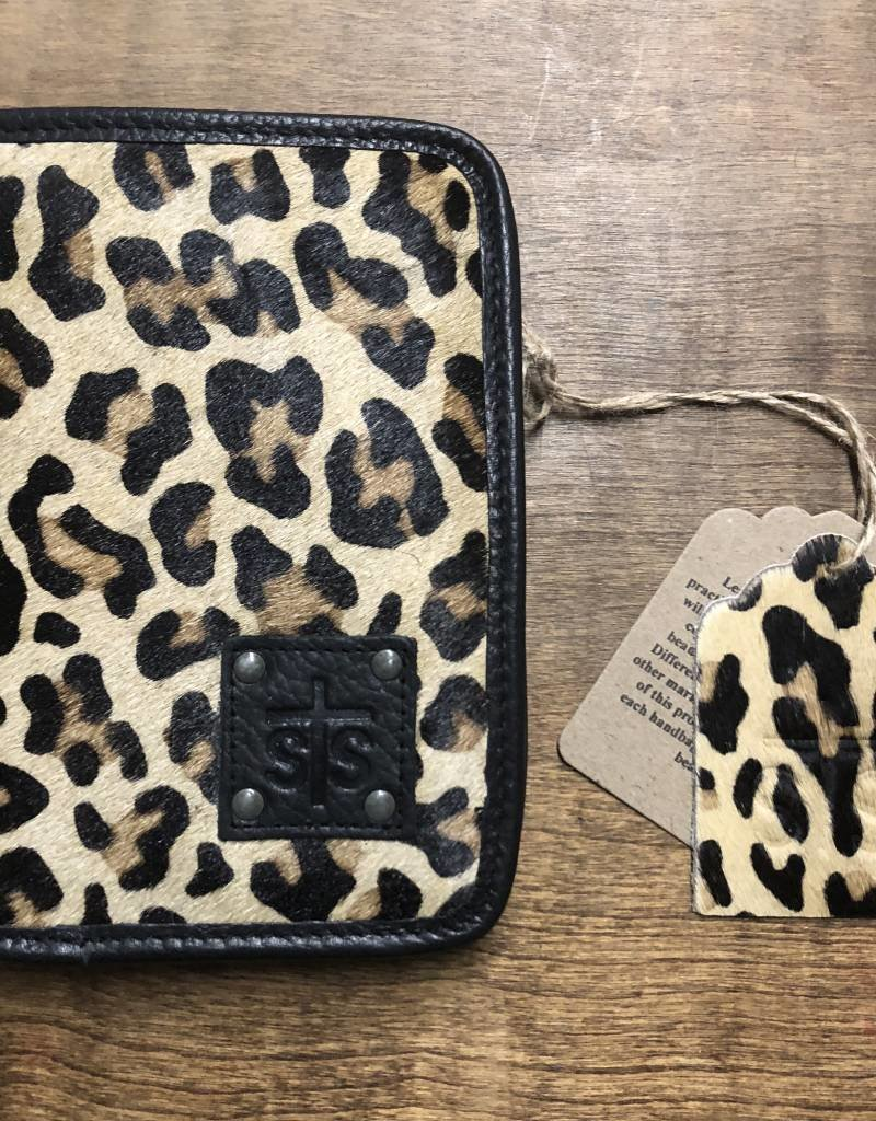 WALLET MAGNETIC LEOPARD STS31395