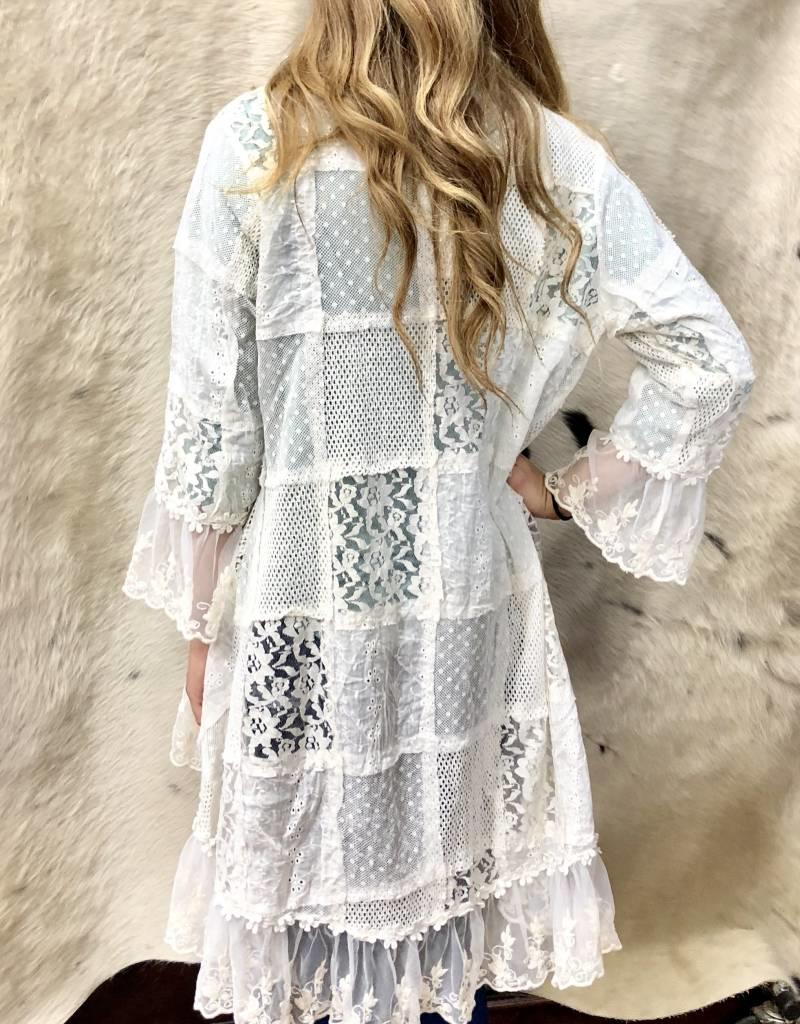 LACE JACKET CREAM
