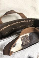 STS COWHIDE COSMETIC BAG