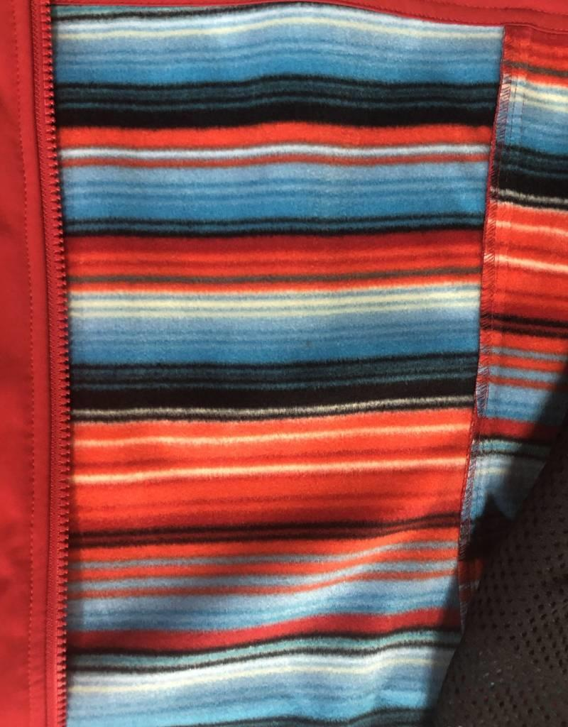 ARIAT WMS EDGE SOFTSHELL JACKET SALSA SERAPE LINING CONCEAL CARRY