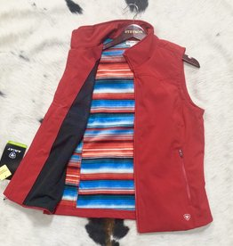 ARIAT ARIAT WMS EDGE SOFTSHELL VEST SALSA SERAPE LINING CONCEAL CARRY