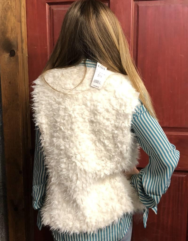 ARIAT ARIAT VANILLA ICE VEST FAUX SHEARING SILKY LINING WITH POCKET