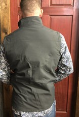GREY TRAIL VEST CONCEALED CARRY W FLEECE LINING