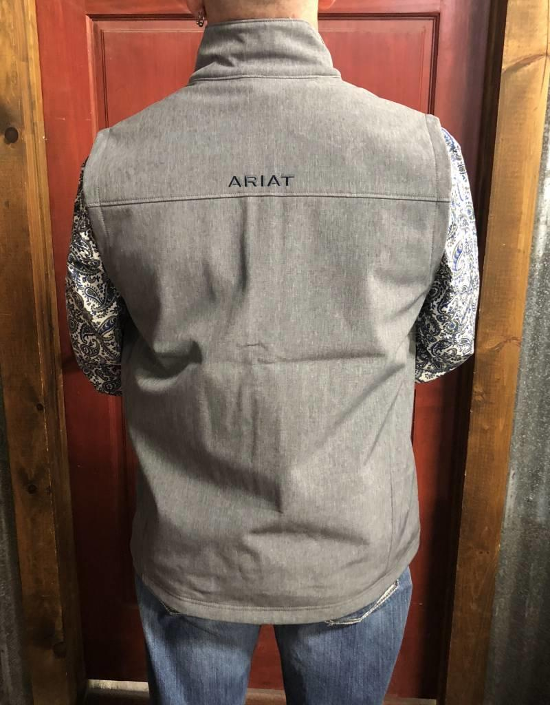 ARIAT ARIAT MNS VERNON 2/0 SOFTSHELL VEST CHARCOAL