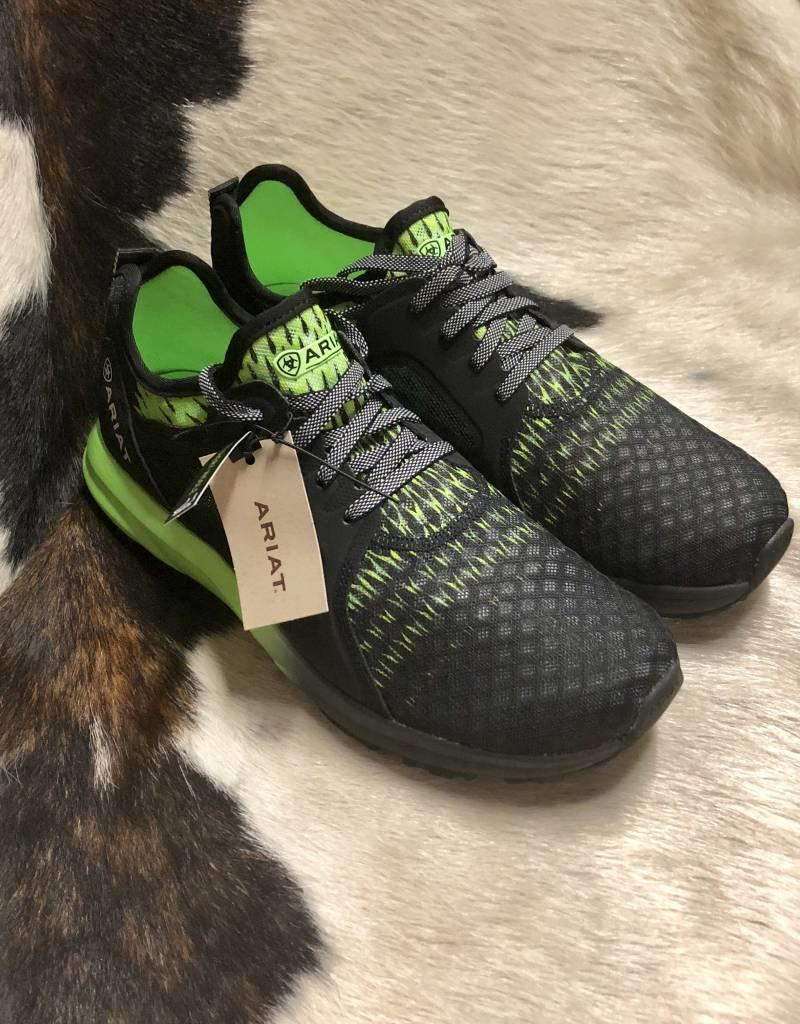 ARIAT ARIAT MNS FUSE LIME GREEN BLACK SHOE RECOVERY INSOLE