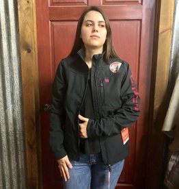 CINCH CINCH WNS CC BONDED JACKET BLACK/PINK CONCEALED CARRY