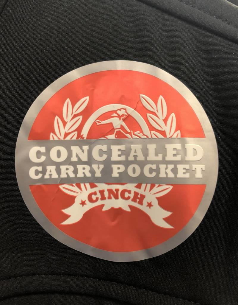 CINCH CINCH WNS CC BONDED JACKET BLACK/PINK CONCEALED CARRY