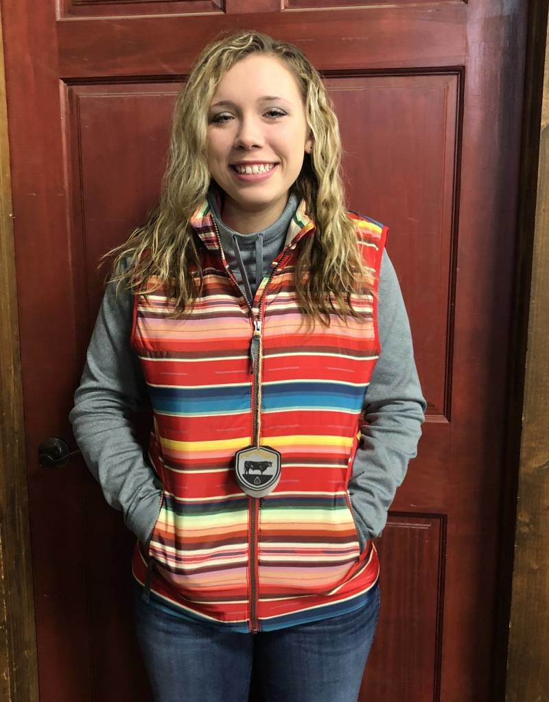 WNS STS SEALY VEST SERAPE LINING QUILTED